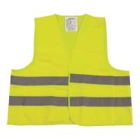 Kamizelka ostrzegawcza VERA, żółta, rozmiar M/XXL, w etui
