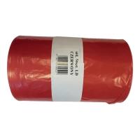 Worki na odpady medyczne 60 l, czerwone, 50 sztuk