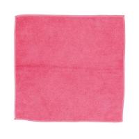 Ściereczka z mikrofibry CLEAN PRO, 32 x 32 cm, czerwona