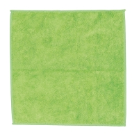 Ściereczka z mikrofibry CLEAN PRO, 32 x 32 cm, zielona