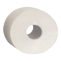 Papier toaletowy merida Jumbo, białe, 30 g/m², opakowanie 12 sztuk