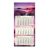Kalendarz trójdzielny Crux, płaski, pory roku