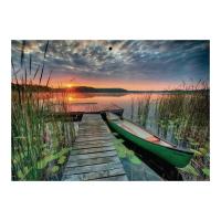 Kalendarz trójdzielny Crux, wypukły, polana krokusów