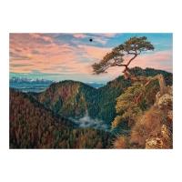 Kalendarz trójdzielny Crux, wypukły, Morskie Oko