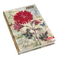 Kalendarz DAN-MARK Art A5, dzienny, w kwiaty
