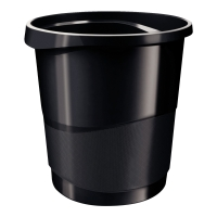 Kosz na śmieci ESSELTE Vivida, czarny