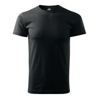 Koszulka ADLER BASIC, czarna, rozmiar L
