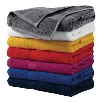 Ręczniki ADLER, szaro-czarny, 50x100 cm