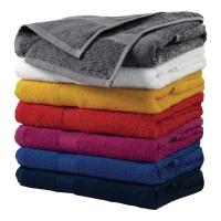 Ręczniki ADLER, szaro-czarny, 70x140 cm