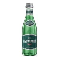 Woda mineralna CISOWIANKA niegazowana, w szkle, 24 butelki x 300 ml