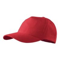 Czapka ADLER 5P, czerwona