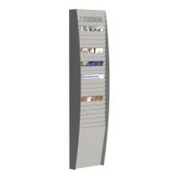 Półka ścienna PAPERFLOW A4, 25 kieszeni
