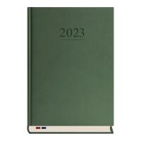 Kalendarz Michalczyk&Prokop Stacjonarny, A4, dzienny, zielony