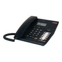 Telefon analogowy TEMPORIS 180 z wyświetlaczem, czarny