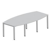 Stół konferencyjny NOWY STYL 72 x 240 x 120, biały.