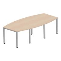 Stół konferencyjny NOWY STYL 72 x 240 x 120, klon