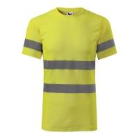 Koszulka T-shirt ostrzegawcza ADLER HV PROTECT, żółta, rozmiar L