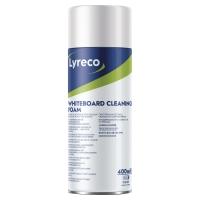 Pianka LYRECO do czyszczenia tablic suchościeralno-magnetycznych 400 ml