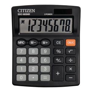 Kalkulator CITIZEN SDC805BN 8-Poziomowy Czarny