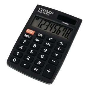 Kalkulator CITIZEN SLD100NR 8-pozycyjny Czarny