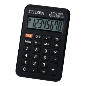 Kalkulator CITIZEN LC210NR 8-pozycyjny Czarny