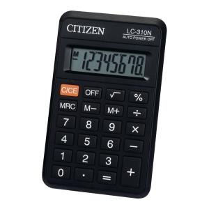 Kalkulator CITIZEN LC310N 8-Poziomowy Czarny