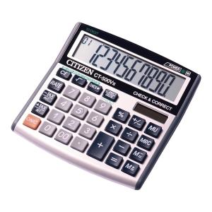 Kalkulator CITIZEN CT500VII 10-Poziomowy Srebrny