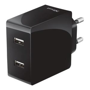 Ładowarka sieciowa Trust z 2 portami USB