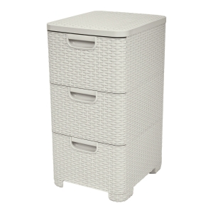 CURVER 3 DRAWERS STYLE CREME