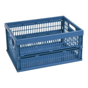 CURVER FOLDABLE BASKET BLUE