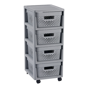 CURVER INFINITY 4 DRAWERS GREY