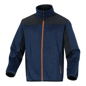 Bluza Softshell DELTA PLUS BEAVER, granatowo-pomarańczowa, rozmiar XXL