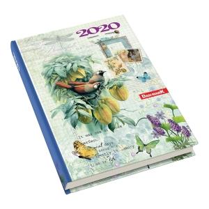 Kalendarz DAN-MARK Art A5, dzienny, w żurawie