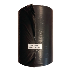 PK25 EUROPACK WASTE BAGS LDPE 120L