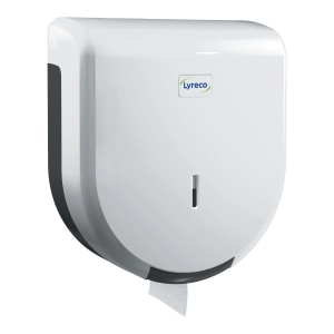 LYRECO MINI JUMBO DISPENSER WHITE