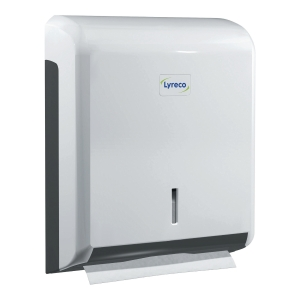 LYRECO HAND TOWELS DISPENSER WHITE