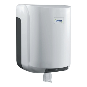 LYRECO CENTERFEED DISPENSER WHITE