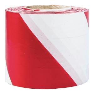 Taśma odgradzająca Biało-czerwona Dwustronna, 85 mm x 100 m