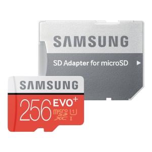Karta pamięci Samsung Evo+ microSD z adapterem,256 GB