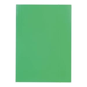 Teczka z gumką BARBARA 202, A4, zielona