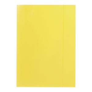 Teczka z gumką BARBARA 202, A4, żółta