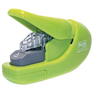 Zszywacz Plus bezzszywkowy, zielony