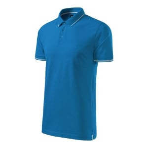 Koszulka Polo MALFINI PEMIUM Perfection Plain, Rozmiar XL, niebieska