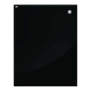 Tablica szklana magnetyczna 2x3, 80 x 60 cm, czarna*