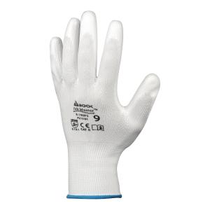 Rękawice JOB MASTER 5-100PS, białe, rozmiar 11, 12 par