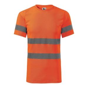 Koszulka RIMECK HV Protect 1V9, pomarańczowa, rozmiar L
