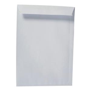 Koperty samoklejące z paskiem E4 RAYAN, białe, 25 sztuk