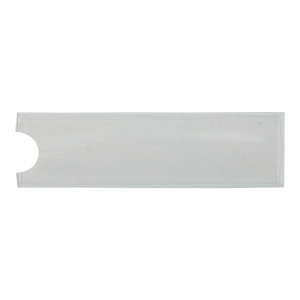 DURABLE POCKET FIX LABEL HOLDERS - PACK OF 10 20 X 75MM
