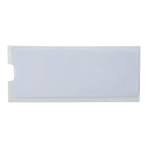 DURABLE POCKET FIX LABEL HOLDERS - PACK OF 10 60 X 150MM