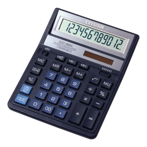 Kalkulator CITIZEN SDC-888XBL, 12 pozycji, niebieski*